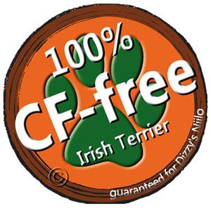 Unser Irish Terrier ist vom DH Genotyp N/N